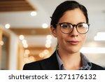 portrait closeup of smiling...   Shutterstock . vector #1271176132