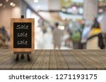 abstract blur image of people... | Shutterstock . vector #1271193175