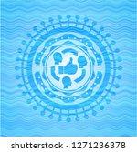 good customer feedback icon... | Shutterstock .eps vector #1271236378