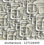 square pattern   Shutterstock .eps vector #127126445