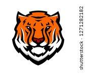 tiger anger. vector... | Shutterstock .eps vector #1271282182