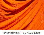 texture of orange robe of a...   Shutterstock . vector #1271291305