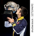 melbourne   january 27  novak... | Shutterstock . vector #127134692