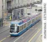 zurich  swiss confederation... | Shutterstock . vector #1271366542