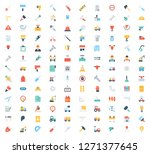 set of construction related... | Shutterstock .eps vector #1271377645