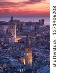 genova  italy  beautiful sunset ...   Shutterstock . vector #1271406208