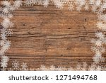 old wood background and... | Shutterstock . vector #1271494768