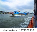 chao phraya river bangkok... | Shutterstock . vector #1271502118