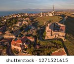 aerial view of the norman...   Shutterstock . vector #1271521615