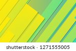 abstract geometric background... | Shutterstock .eps vector #1271555005