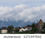 stony tower and beauty housing... | Shutterstock . vector #1271597032