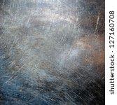 scratched metal texture   ... | Shutterstock . vector #127160708