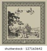 old village illustration | Shutterstock . vector #127163642