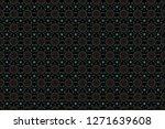 raster seamless background.... | Shutterstock . vector #1271639608