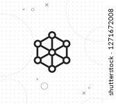 network vector best flat icon...   Shutterstock .eps vector #1271672008