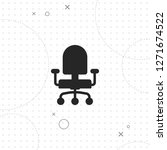 office chair icon  vector best...   Shutterstock .eps vector #1271674522