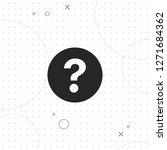 question vector best flat icon... | Shutterstock .eps vector #1271684362