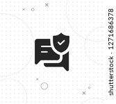 security message vector best... | Shutterstock .eps vector #1271686378