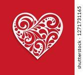 Heart illustration. Happy Valentine's Day