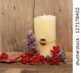 Pale Burning Feng Shui Candle...