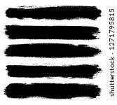 hand drawn striped pattern....   Shutterstock .eps vector #1271795815