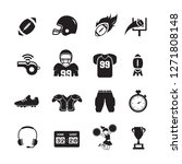 american football icons | Shutterstock .eps vector #1271808148