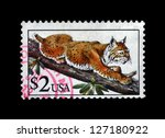 usa   circa 1995  stamp printed ... | Shutterstock . vector #127180922