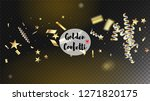 modern tinsel confetti isolated ... | Shutterstock .eps vector #1271820175