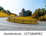 beautiful architecture at vaduz ... | Shutterstock . vector #1271868982