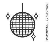 disco ball icon.