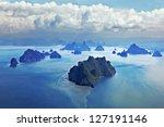 beauty islands like on mars ... | Shutterstock . vector #127191146