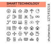 smart technology icons set. ui... | Shutterstock .eps vector #1271933218