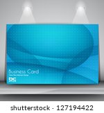 elegant business card design... | Shutterstock .eps vector #127194422