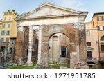 Porticus Octaviae Or Portico Di ...