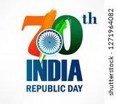 illustration of happy indian... | Shutterstock .eps vector #1271964082