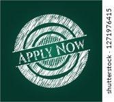 apply now on blackboard   Shutterstock .eps vector #1271976415