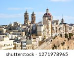 the traditional houses and... | Shutterstock . vector #1271978965