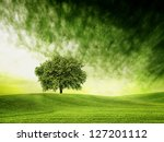 find time for green time | Shutterstock . vector #127201112