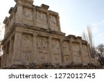 aphrodisias ancient city ... | Shutterstock . vector #1272012745