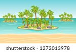 seamless game background with... | Shutterstock .eps vector #1272013978