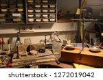 traditional watchmaker workshop | Shutterstock . vector #1272019042