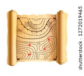 battlefield scheme with targets ... | Shutterstock .eps vector #1272019465
