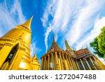 temple of emerald buddha grand... | Shutterstock . vector #1272047488