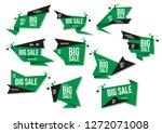 modern banner sale set eps 10... | Shutterstock .eps vector #1272071008