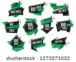 modern banner sale set eps 10... | Shutterstock .eps vector #1272071032