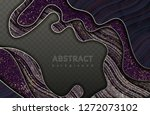 abstract waves background.... | Shutterstock .eps vector #1272073102