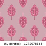 seamless geometric pattern with ... | Shutterstock .eps vector #1272078865