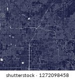 vector map of the city of las... | Shutterstock .eps vector #1272098458