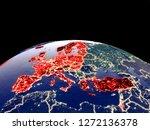oecd european members from... | Shutterstock . vector #1272136378