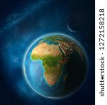 burundi from space on planet...   Shutterstock . vector #1272158218